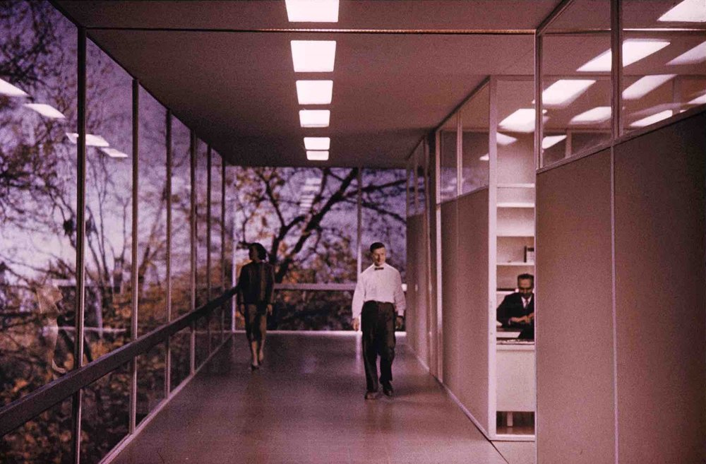 Eero Saarinen, IBM Watson Research Center (Yorktown Heights, NY) 1960