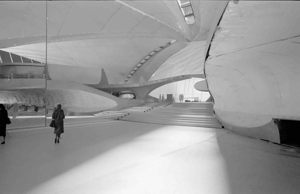 Eero Saarinen, Trans World Airlines Flight Center (Queens, NY) 1962