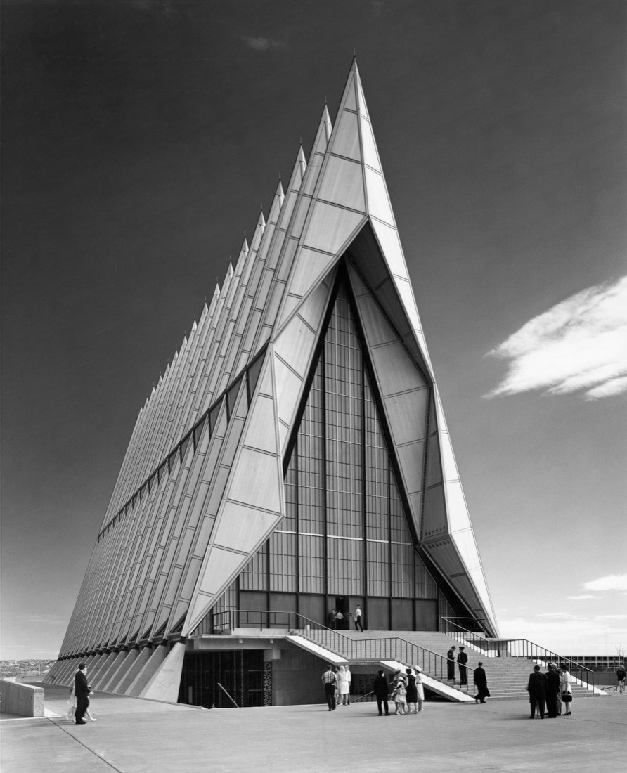 S.O.M., United States Air Force Academy Cadet Chapel (Colorado Springs, CO) 1962