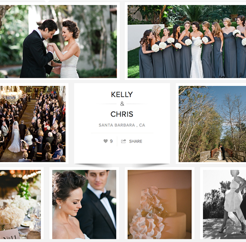 CARATS & CAKE:   Kelly and Chris