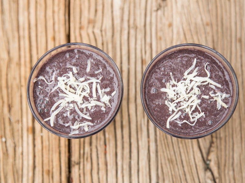 LAURENS LYST :  Blueberry Summer Smoothie