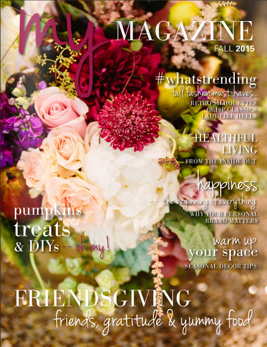 MY MAGAZINE: FALL 2015
