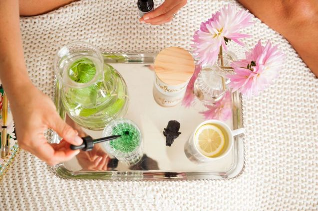 MINDBODYGREEN:   Exactly What a Celebrity Nutritionist Does for Gorgeous Skin