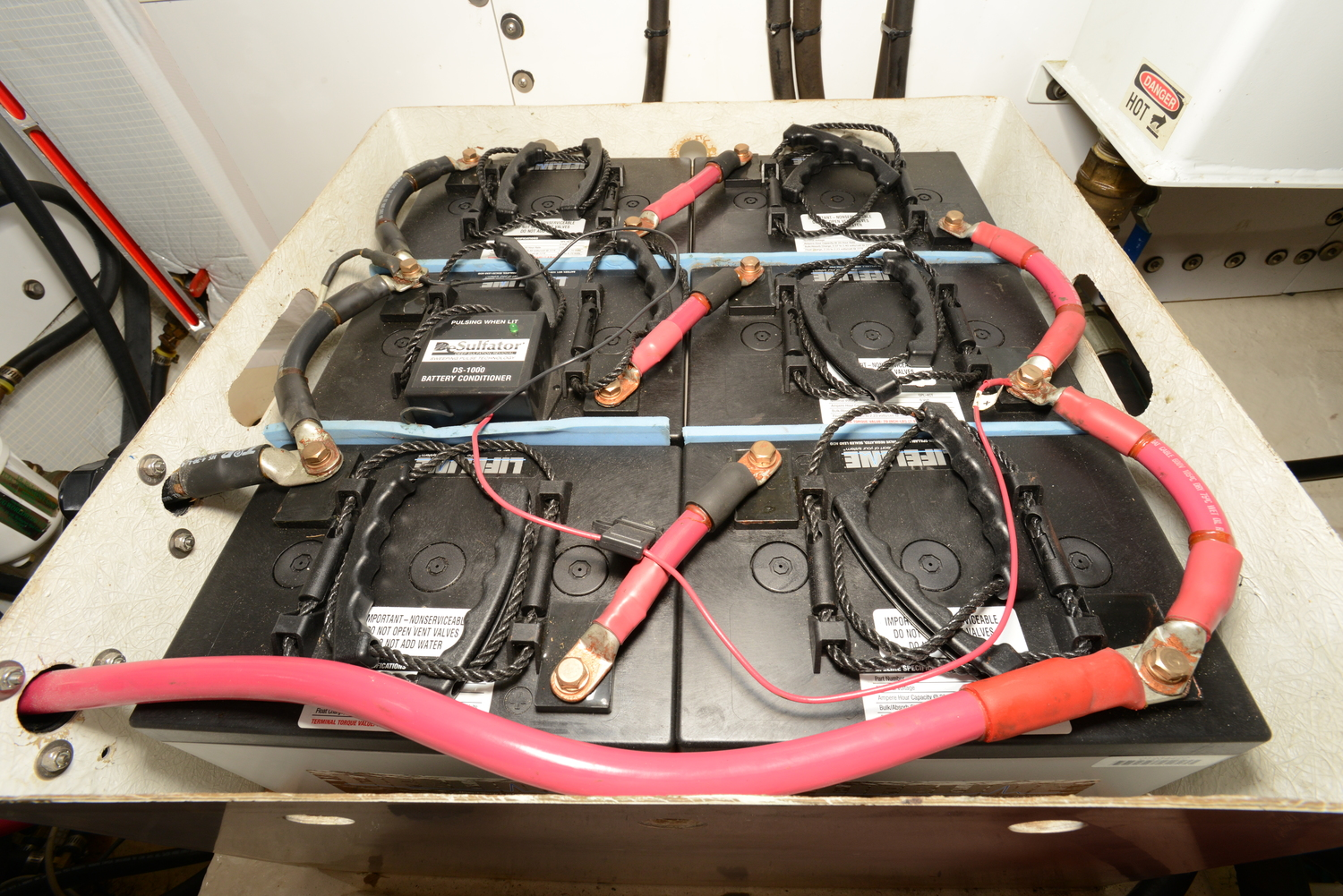 Stout Inverter Chargers Battery Banks House Bank Wiring Prev Next