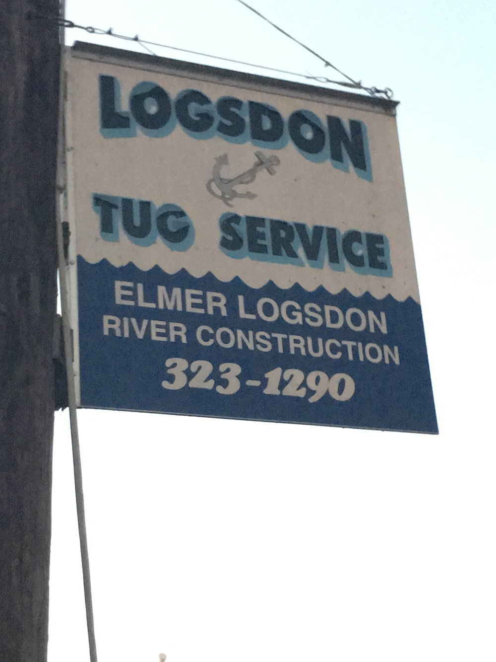 Logston Tug is exactly what it's name says it is, a tug service.