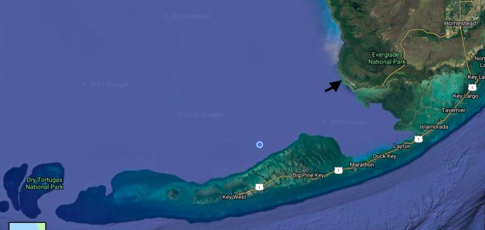 A perfect little escape,  courtesy of Google Maps
