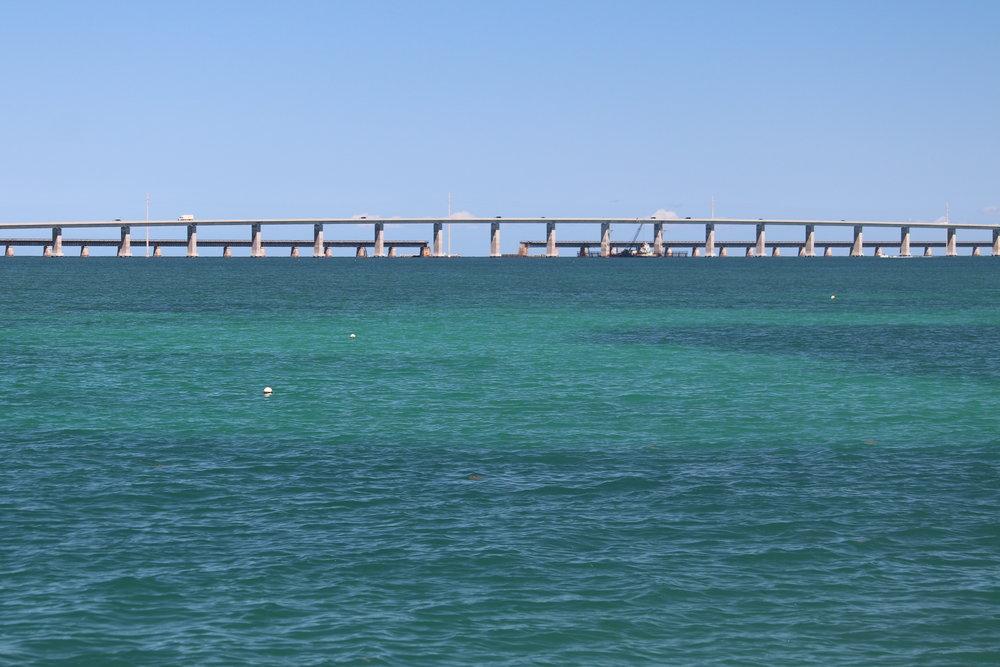 Seven-Mile Bridge (between Key West and Marathon)
