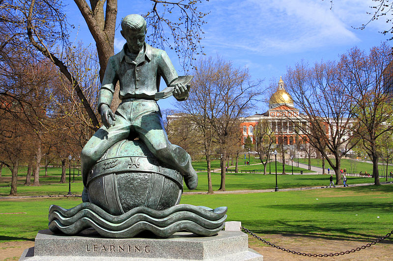 Picture: Boston Common by Ingfbruno