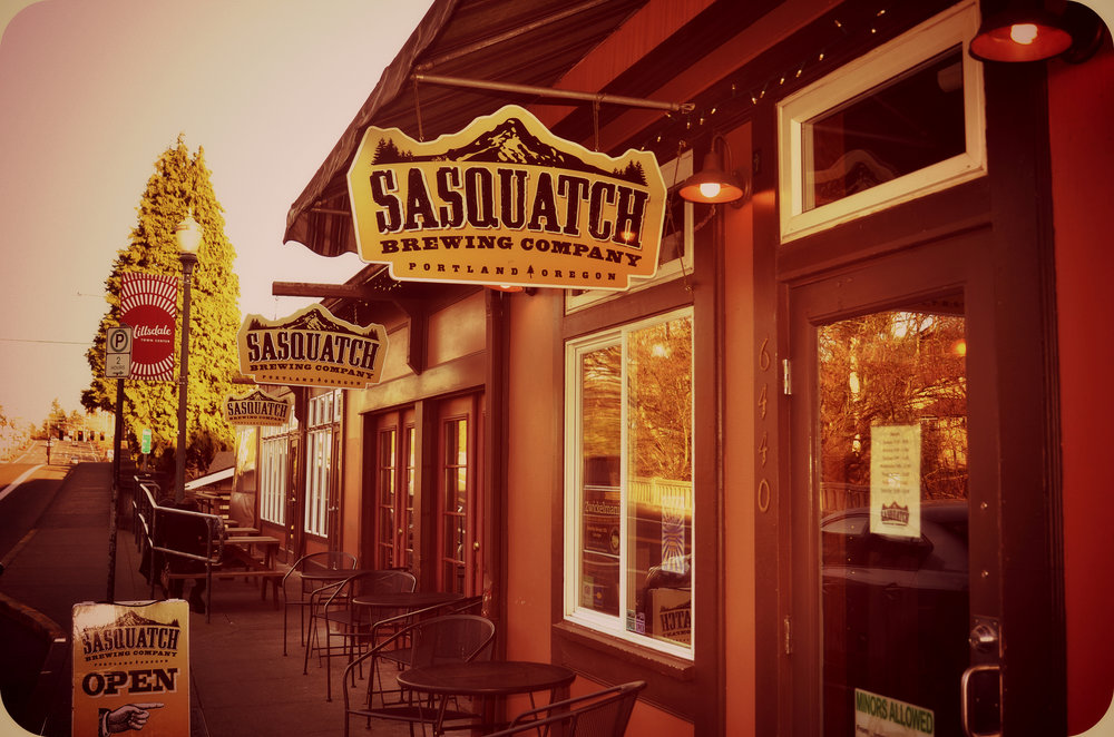 Welcome to Sasquatch Brewery, a place where neighbors, friends and strangers are always welcome.  Our restaurant is nestled in the quiet neighborhood of Hillsdale in Southwest Portland, and has been operating since 2011. Our passion is fresh hand-crafted beer, paired with farm to table offerings. We are family owned and operated.  We proudly seek out local businesses in our very own community to source the ingredients for the majority of our menu items.