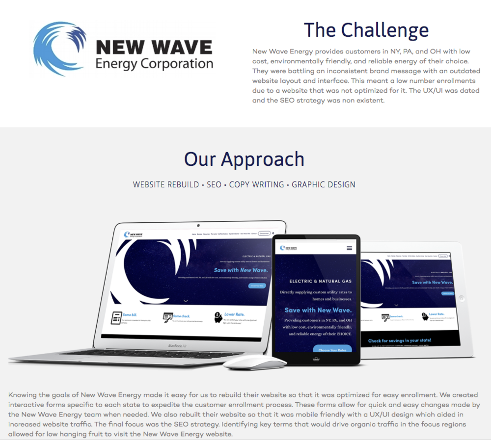 New wave energy -