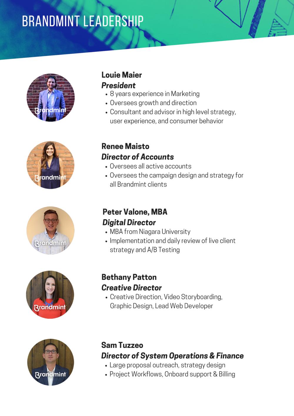 Meet the team - Leadership