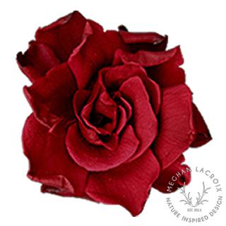Gardenias - Burgundy -