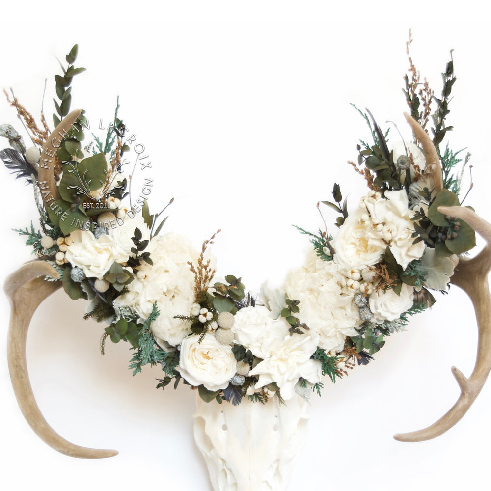 Preserved Flower Crown by MeghanLaCroix.com