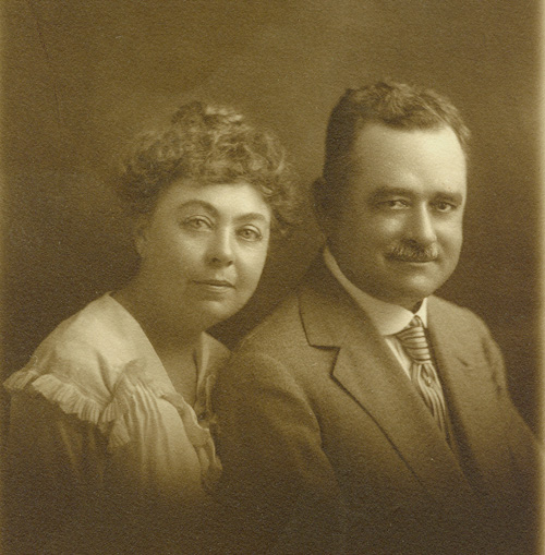 Odelia and Henry Staiti, c. 1915