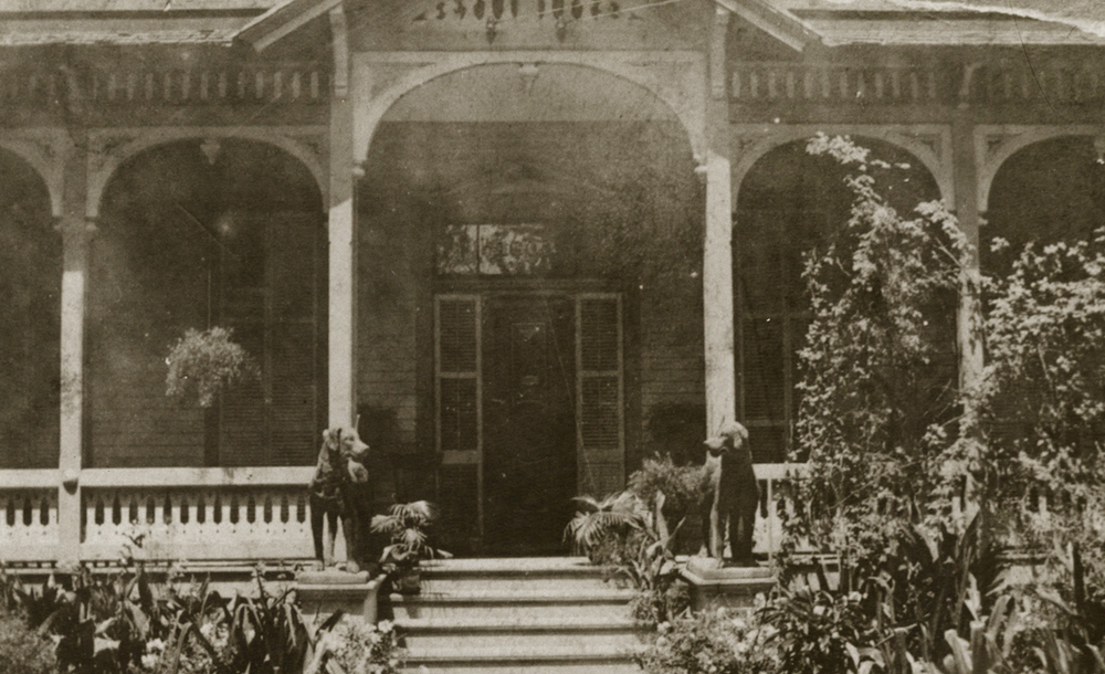 Image: Pillot House at 1803 McKinney, date unknown.