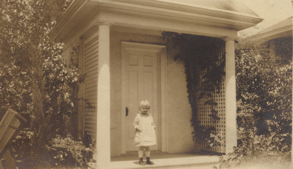 Alice Baker Jone Meyers, Baker Family Playhouse 1919, courtesy of Woodson Research Center.
