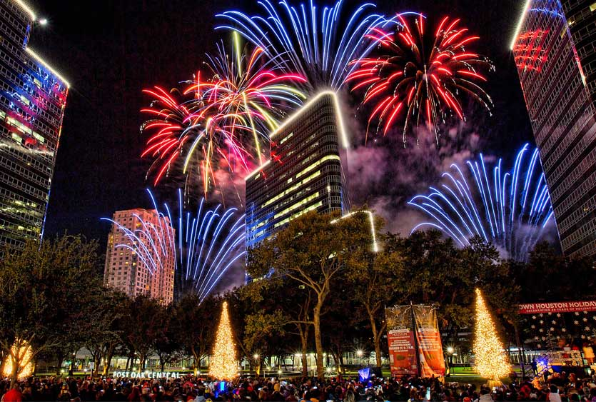 After the Turkey is polished off and naps are taken, Houstonians will gather on Post Oak Boulevard to witness the lighting of 80 trees lining the boulevard (reportedly using a half-million lights). The surrounding skyscrapers will also be ablaze with lights, creating a magical sight. Sponsored by Uptown Houston, the 2016 event will be the 31st year for lighting this Galleria-area event.