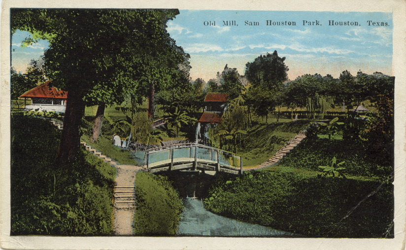 Sam Houston Park 1910