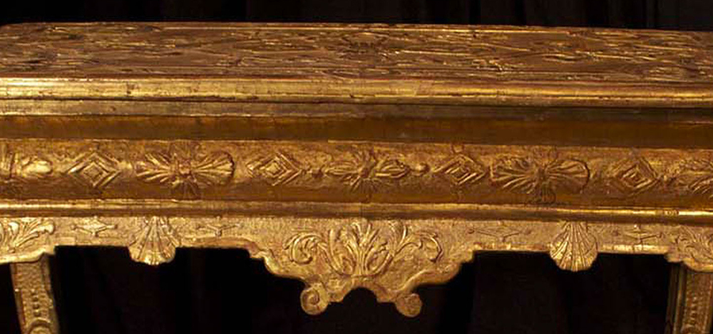 Georgian giltwood tables feat