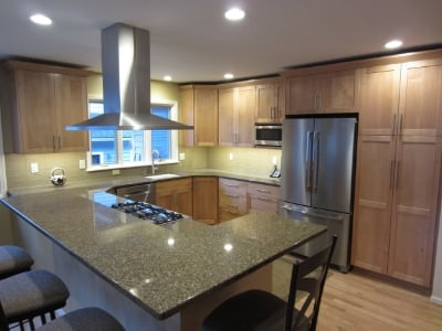 Kitchen remodel: marra