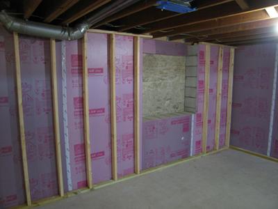 Basement remodel ann arbor hills rochman design build for Daylight basement windows