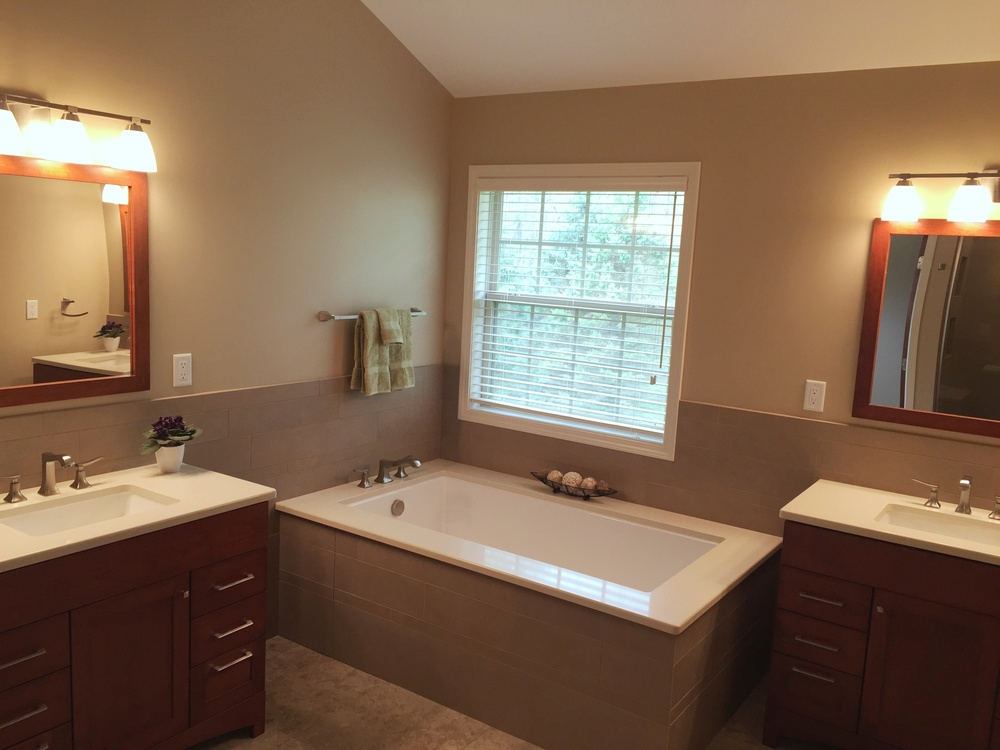 bathroom remodel: lake forest