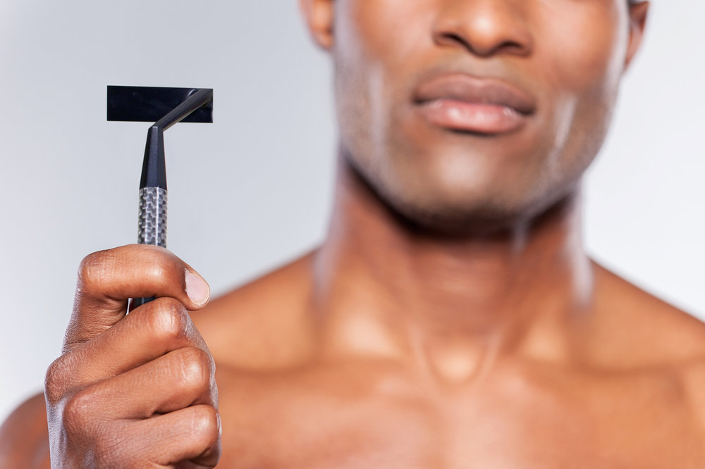 The world's first Laser Razor - A Razor fit for the 21st century