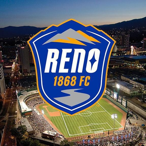 Join us at the Reno 1868 soccer game next Wednesday at 6:45PM! We will be sitting in the general admission grass seating area so grab a blanket, family, and friends to come enjoy the game with us! Tickets are $12 and can be purchased over the phone or at the door.