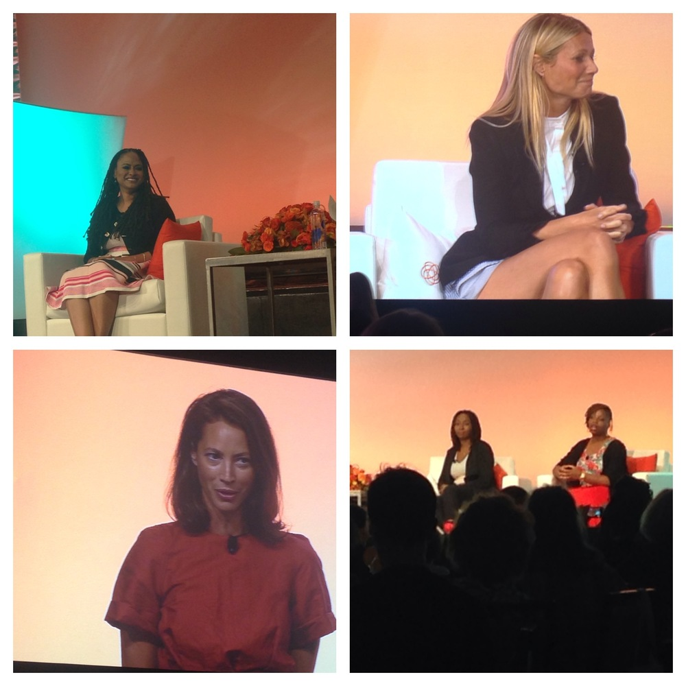 BlogHer15: Experts Among Us Keynote speakers included award-winning director of Selma, Ava DuVernay, Aca  demy Award-winning actress and Founder of goop, Inc., Gwyneth Paltrow, model and founder of Every Mother Counts, Christy Turlington Burns and #BlackLivesMatter Co-founders Patrisse Cullors and Opal Tometi.