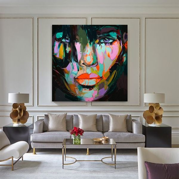 Big, bold art and lamps.      (Click picture to go to link)