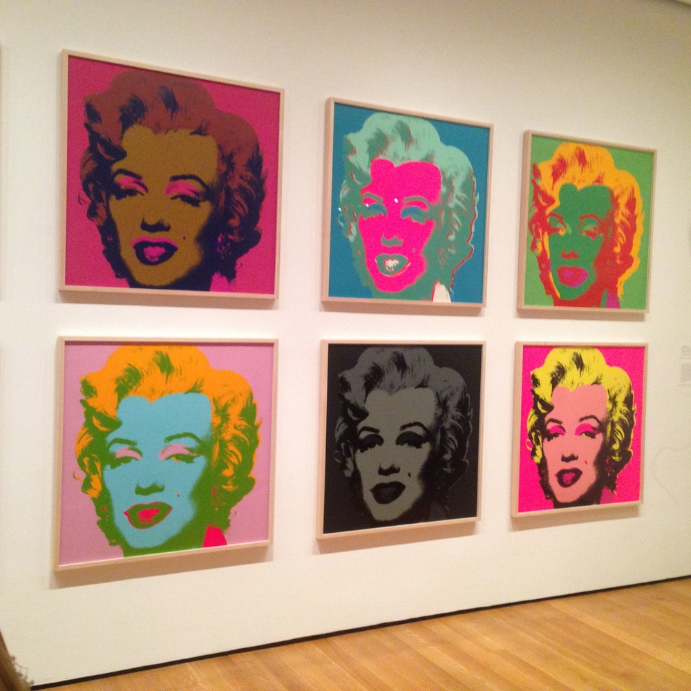 Andy Warhol - Museum of Modern Art (MOMA), NYC