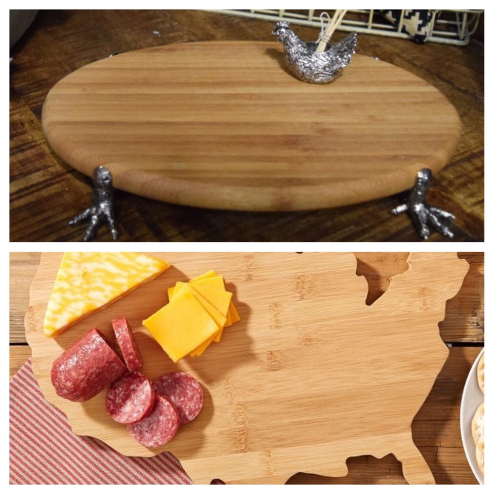 Of course we can't forget the food and hors d'oeuvres... your guests will love these adorable cheeseboards.