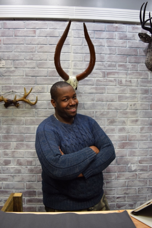 Harlem Heirloom and Harlem Soap owner Jammie Waldron.