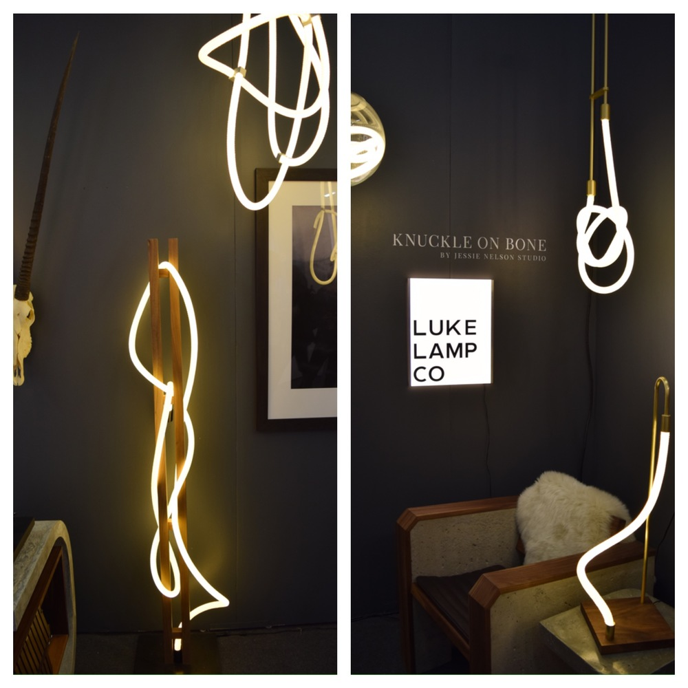 Left:   Floor Lamp                                                                                            Right:   Table Lamp