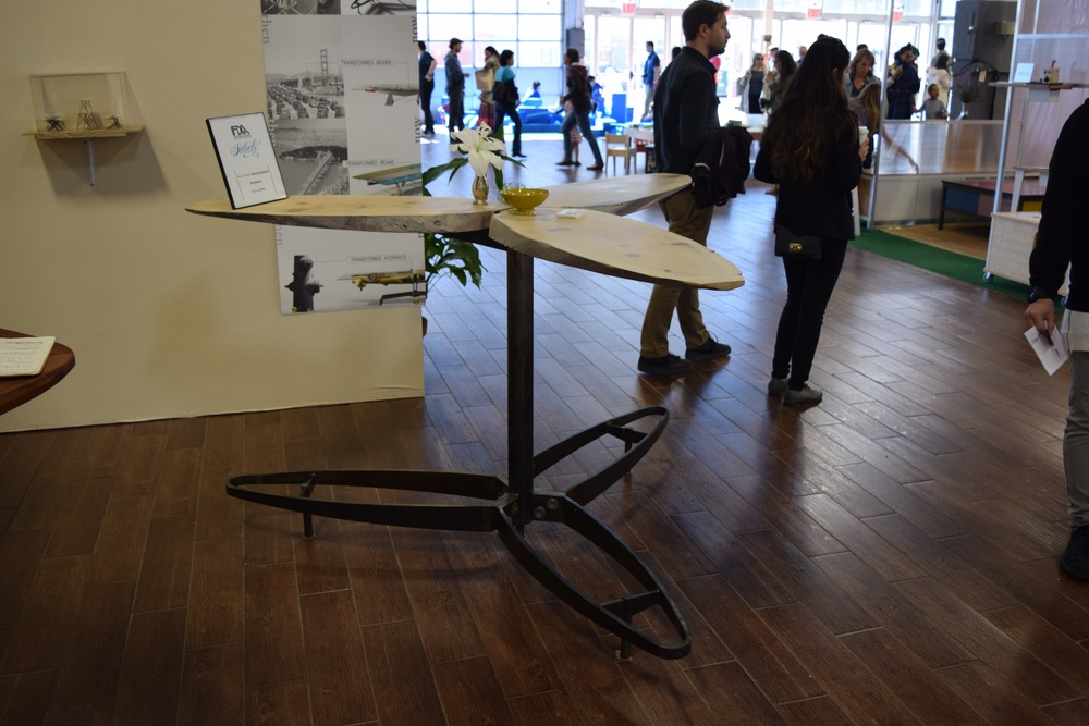 Bklyn Designs, Propeller Table by  Krivens Partners
