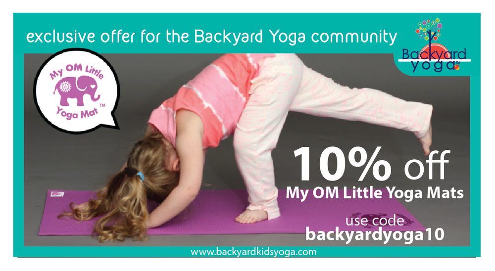 Click the above image and use the code BACKYARDYOGA10 at checkout.