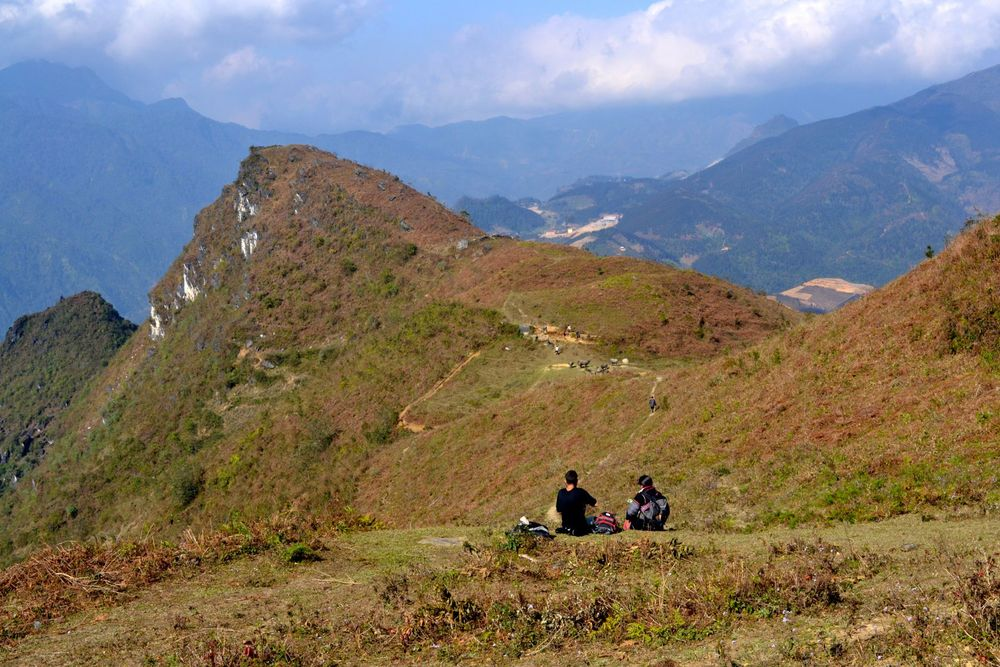 Trekking in the mountains of Sapa, Northern Vietnam