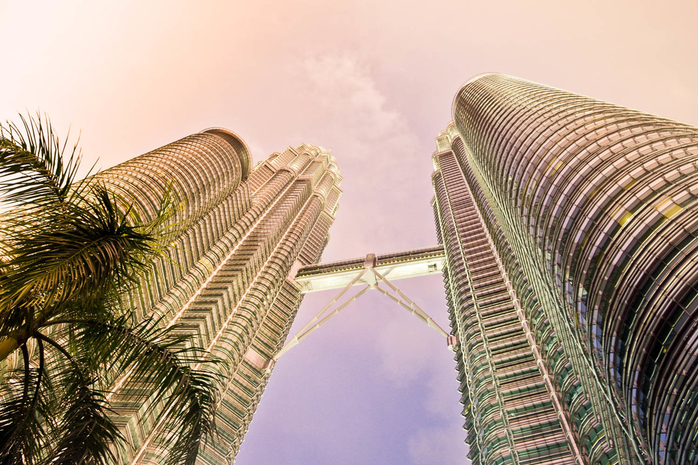 Petronas Towers in KL - city of concrete, tall towers, and blind massages    - KL Towers, 2016