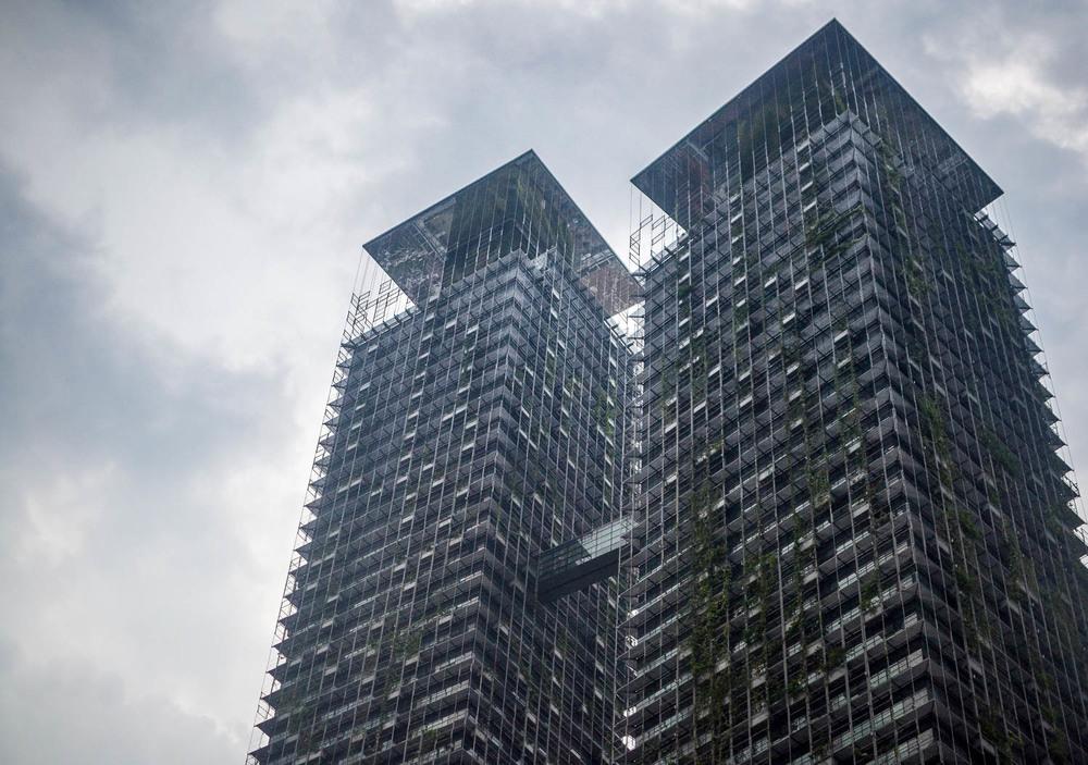 Grey days in Kuala Lumpur, 2016