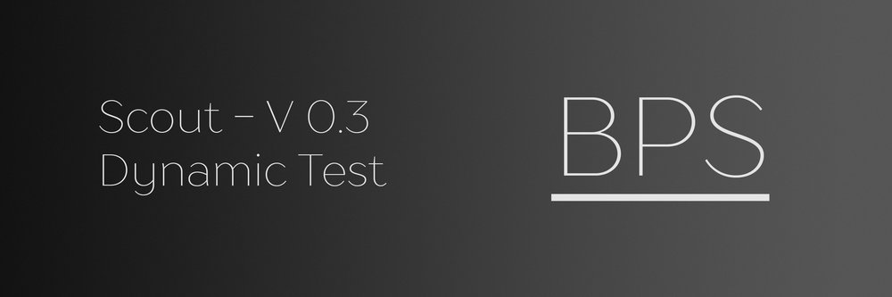 Click here to view the technical report for the dynamic test of Scout V 0.3.