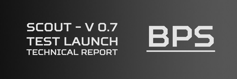 Click here to view the technical report for Scout V 0.7's test launch.