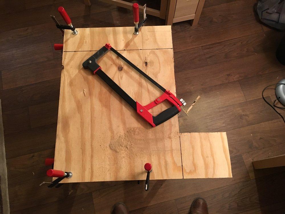 Cutting the main base
