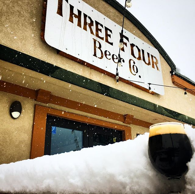 Come enjoy the spring weather with us! Drink a beer on our patio and your second one is on (and in) the house! #fortcollins #craftbeer #patiopatiopatio #springincolorado #snowday