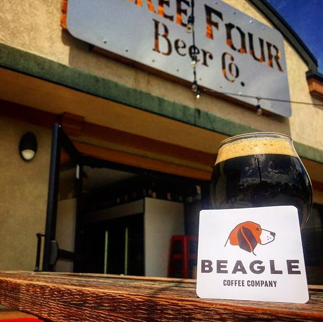 NEW BEER ALERT - Fluffy Beagle is now on tap! Flight of the Beagle featuring toasted marshmallow. Come and be one of the first to try it! #newbeeralert #fortcollins #craftbeer #beaglecoffeeco