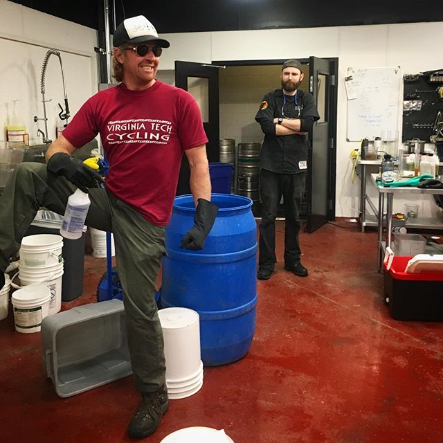 Our @malt_bae and @mitch_dodson have been busy brewing up delicious new styles for summer! Come help us kick a few kegs so we can throw them on tap! #fortcollins #craftbeer #newbeeralert #maltbae #brewerylife