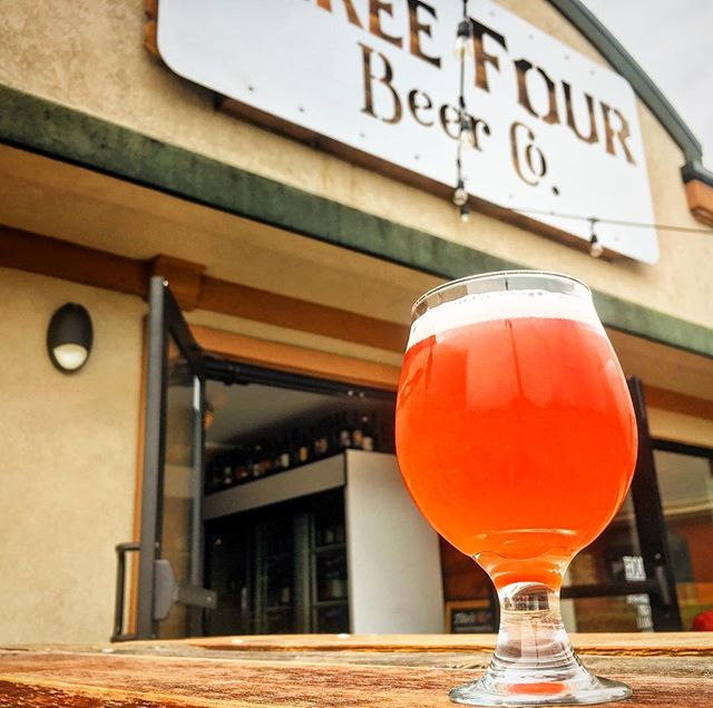 New beer alert! We just tapped our Raspberry Saison! Only four kegs in existence, so hurry down! #fortcollins #newbeeralert #brewerylife #raspberrysaison