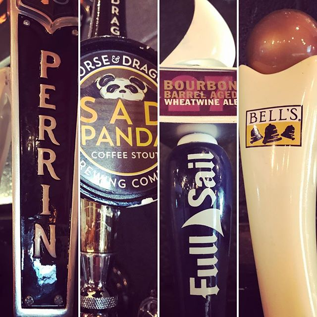 It's Christmas in July! For the rest of the month, the following beers will be only $2 per pour:  Bell's Porter Full Sail Bourbon Barrel-aged Wheatwine Horse and Dragon Sad Panda Perrin Hypocrite  Deschutes Abyss 2015 Firestone Nitro Milk Stout Left hand Nitro Milk stout  FCB Shot Down Nitro Chocolate Stout  Come and get em while they last! 🍻☃️🎅