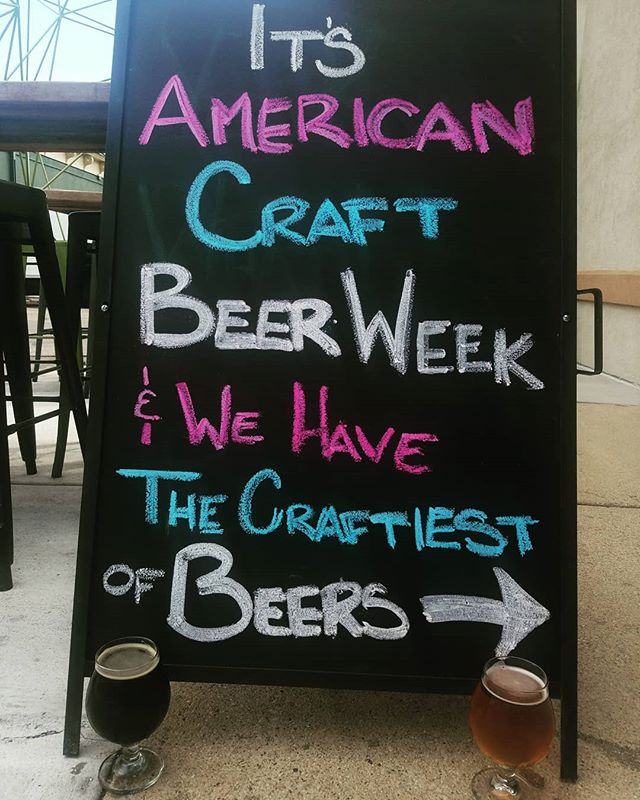 American Craft Beer Week is in full swing! Celebrate your craft breweries and all they do for our comunity this week!! (We have quite a few, so please take care of your liver)