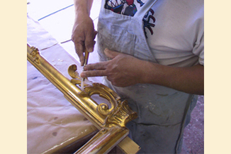 17a6d6ab6065 Frame Restoration — Peter s Custom Picture Framing   Gallery