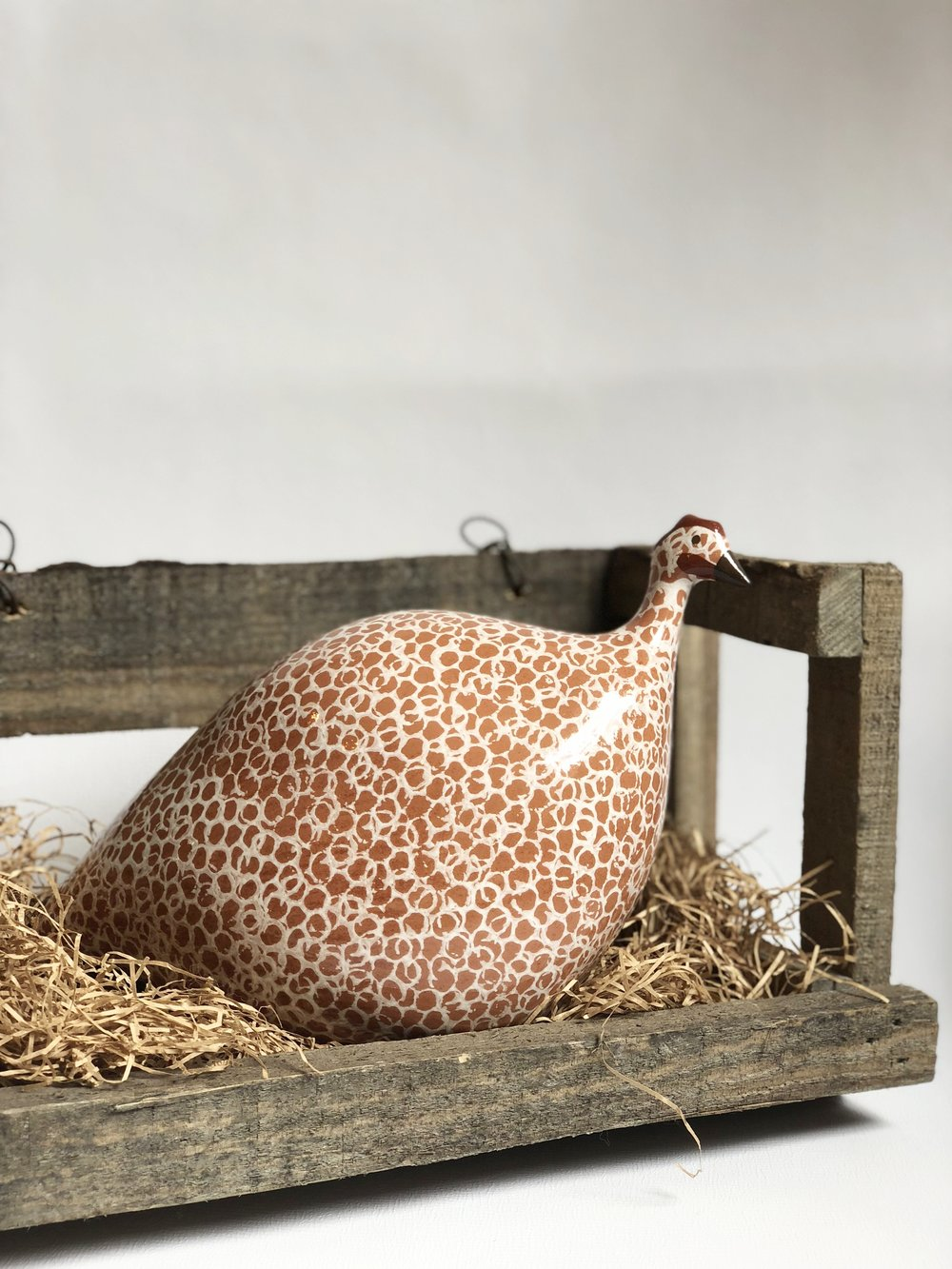 Guinea Fowl nest sold separately